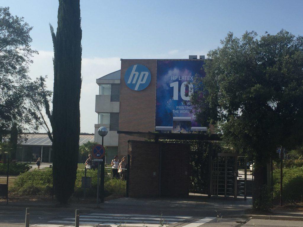 Façade d'HP Barcelone