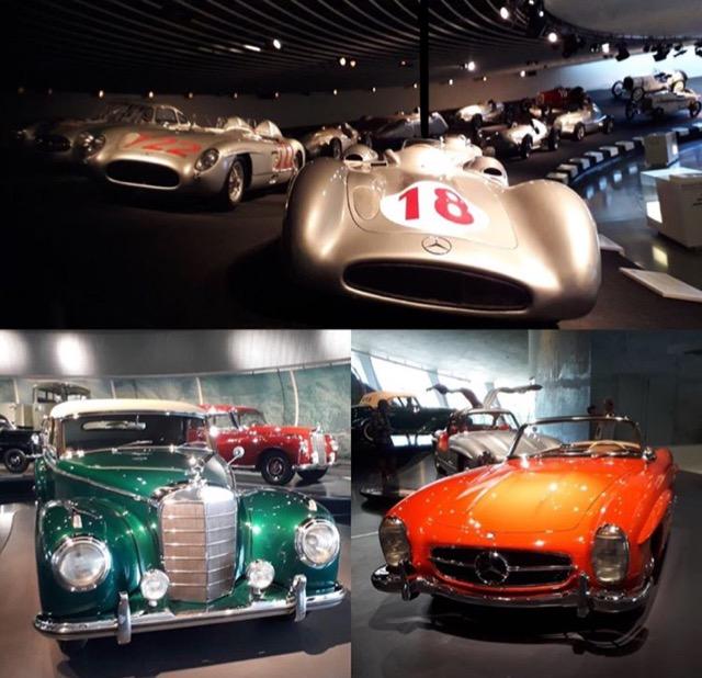 Photos de voitures du Musée Mercedes-Benz.