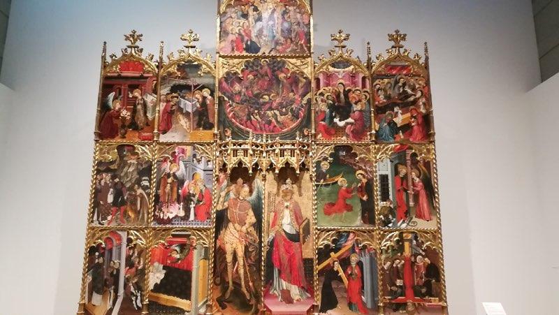 Tableau du Musée d'Art de Catalogne