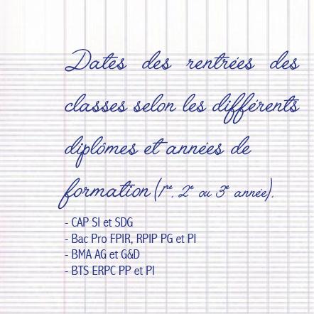 Calendrier Cfa 2020 2019.Rentrees 2019 Pour Les Formations En Apprentissage Le Blog