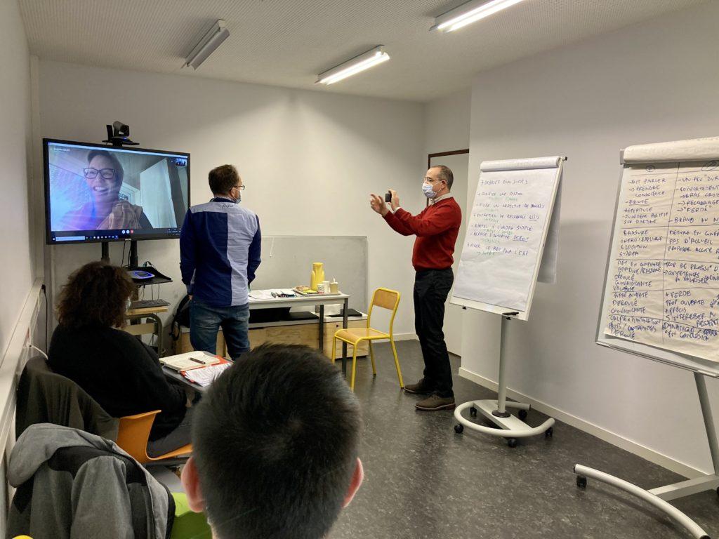 Formation Management sur la cohésion d'équipe. Novembre 2020