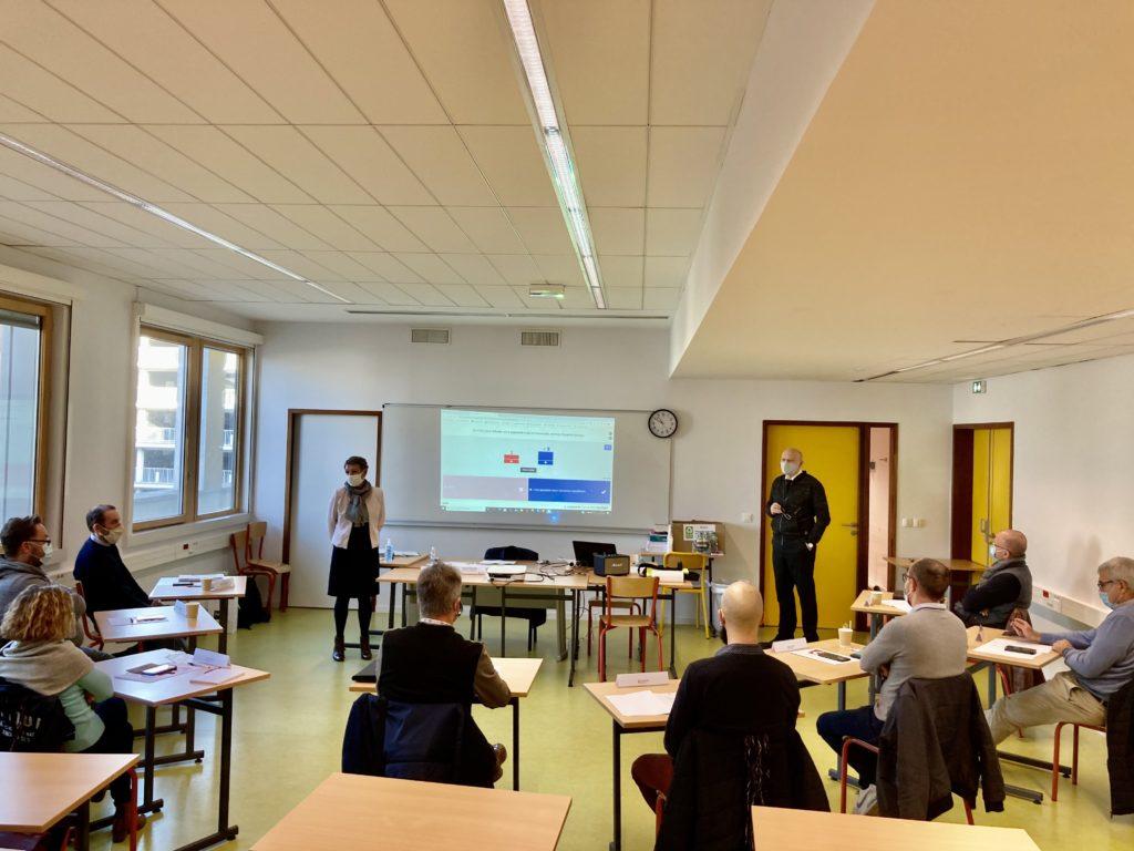 Photo de la 1re journée de formation des tuteurs 2020/2021